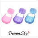 洗手 香皂紙 20入 小皂片 外出 清潔 方便 不占空間 洗手皂 肥皂 泡澡 泡浴 (顏色隨機) Dreamsky