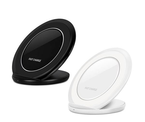 【超人生活百貨O】立架式無線快速充電座 立架式無線充電板 可作為手機支架