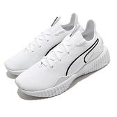 Puma 訓練鞋 Defy New Core Wns 白 黑 女鞋 復古厚底 襪套式 運動鞋【ACS】 19305903