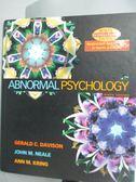 【書寶二手書T1/心理_XAM】ABNORMAL PSYCHOLOGY 9/E 2004_DAVISON/NEALE/KRING