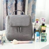 化妝包 多功能大容量防水女士旅行出差男士便攜洗漱包化妝袋收納包「七色堇」