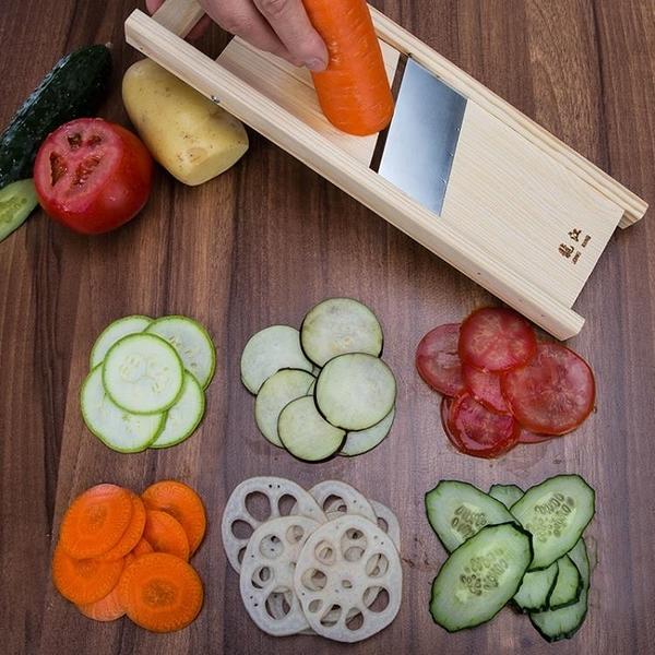 家用手動土豆切片器廚房切菜神器可調節厚度削土豆燒烤切片擦刨片 酷男精品館