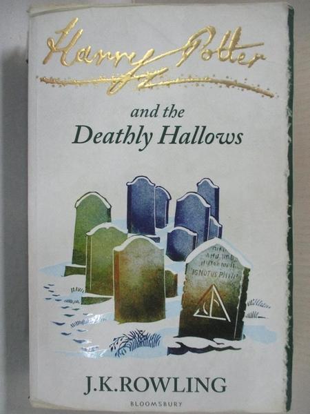 【書寶二手書T9/原文小說_DAK】Harry Potter and the Deathly Hallows_J.K. Rowling