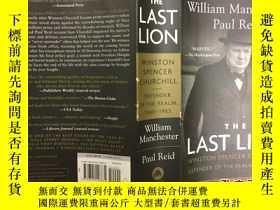 二手書博民逛書店The罕見Last Lion: Winston Spencer Churchill: Defender of th