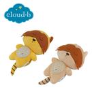 美國cloud b 聲光音樂夜燈/床邊安撫玩偶 (2款)浣熊米色/浣熊黃色