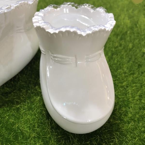 日本進口,寶寶鞋花器,尺寸長5*寬4*高3公分,一雙價