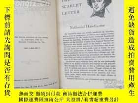 二手書博民逛書店the罕見scarlet letter 紅字Y228443 ha