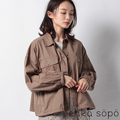 「Hot item」軍裝風格襯衫外套 (提醒 SM2僅單一尺寸) - Sm2