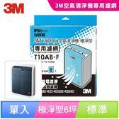 3M 淨呼吸空氣清淨機-極淨型6坪 專用濾網 T10AB-F