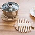 木頭造型隔熱墊/杯墊/防燙/防熱/隔熱/桌墊/魚骨/廚房用品【RS545】