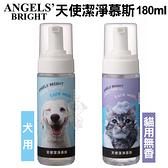 美國Angels' Bright天使牌 潔淨慕斯 犬貓寵物用 180ml*KING*