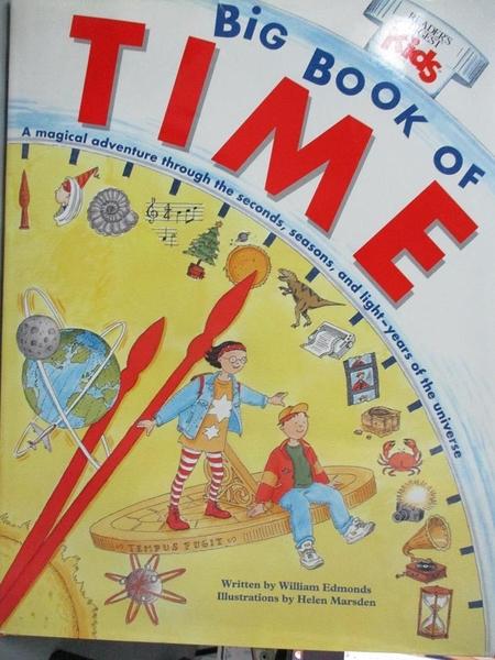 【書寶二手書T3/少年童書_FHW】Big Book of Time_William Edmonds