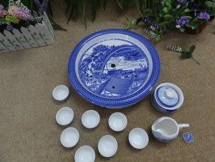 瓷工坊/《清明上河圖》大套組合茶具