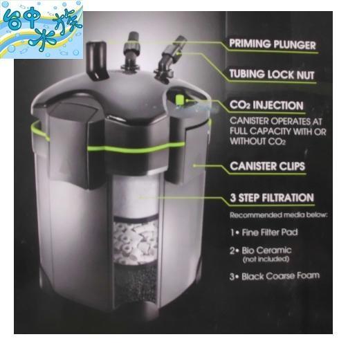 {台中水族} 台灣 RIO- 4層 UV- 6W 殺菌燈 圓桶過濾器 3000L/H   特價--過濾 150cm 5尺 魚缸適用