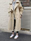 新年好禮85折 風衣中長款韓版港風寬鬆外套