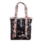 Hsin 賠本出清 現貨 Herschel Market Floral 玫瑰 花紋 陶瓷 橡膠扣 肩背包 帆布 托特包