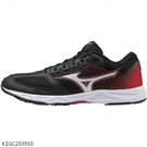 MIZUNO SPEED STUDS 2 童鞋 女鞋 大童 慢跑 健走 耐磨 黑紅【運動世界】K1GC203910