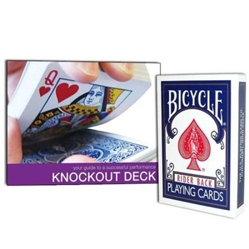 【USPCC撲克館】撲克牌BICYCLE 擊倒 knockout deck