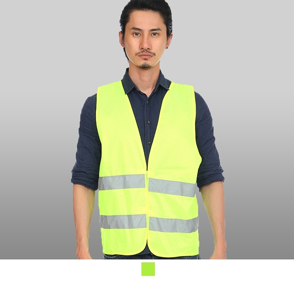 晶輝專業團體制服*CH084*透氣型工地工程工廠反光背心交通背心工地反光馬甲背心防護工作服