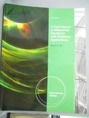 【書寶二手書T1/大學理工醫_YIM】A First Course in Differential Equations with..._Dennis Zill