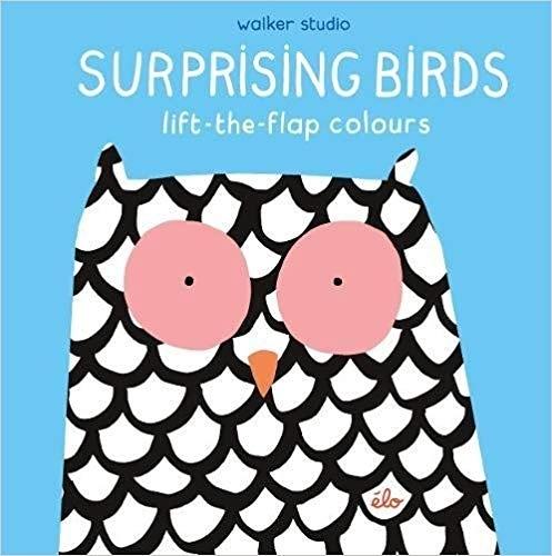 【幼兒認知學習書】SURPRISING BIRDS lift-the flap colours /翻翻書《主題:顏色》