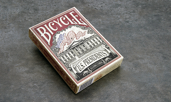 【USPCC 撲克】Bicycle us presidents red 平盒