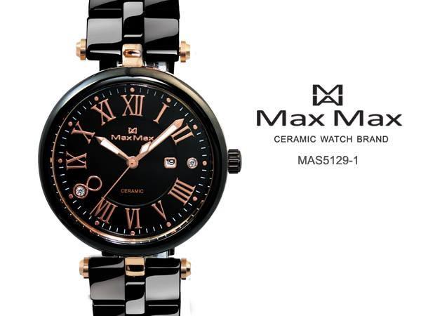 Max Max 陶瓷女錶 MAS5129-1 免運34mm