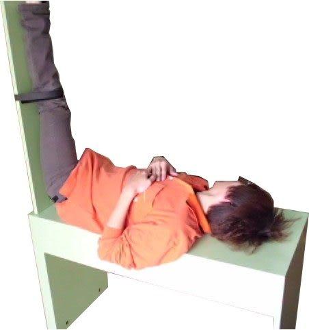 (養生保健) 推拿館美體美容.民俗療法. 拉筋椅.健身椅 真空拔罐器 木製. 台灣製
