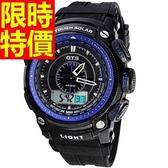 運動手錶-防水新款休閒電子腕錶4色61ab27【時尚巴黎】
