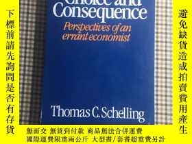 二手書博民逛書店Choice罕見and Consequence. Perspectives of an errant econom