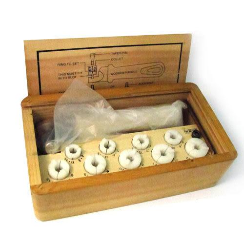 金工寶石鑲嵌工具-鑲嵌戒指組Ring Setter's Inside Ring Clamp
