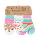 兒童 襪子 ZOOCCHiNi 三件組 - 小鹿 (0-24個月)