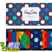 [COSCO代購] W127877 Happy Socks 彩色男襪四入組