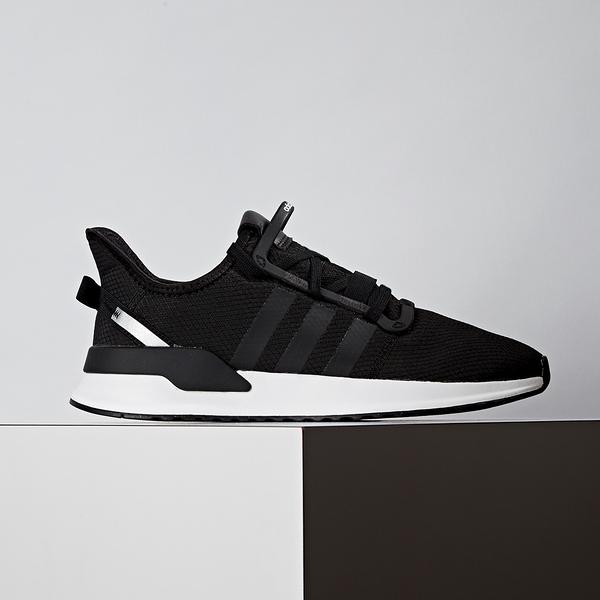 Adidas Path Run 男款 黑色 襪套式 休閒 慢跑鞋 EE7161