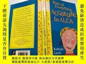 二手書博民逛書店More罕見of everything according to alex:根據亞歷克斯的說法,更多的事情.Y