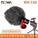 ROWA 樂華 RW-MIC125 指向性 充電式 麥克風 心型收音 高清音質 高靈敏度 抗噪音 隨插即用 RW-125