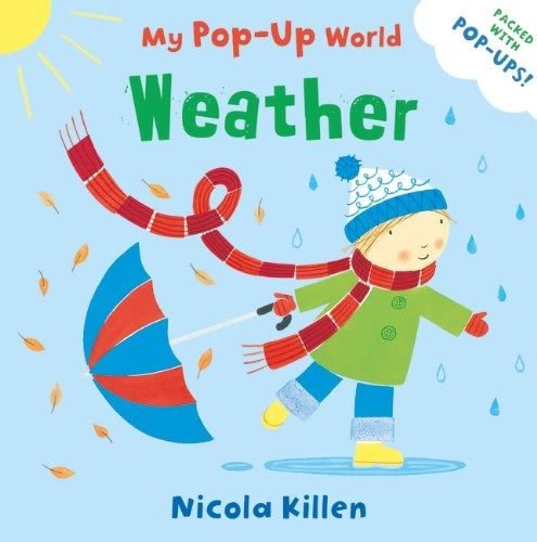 My Pop-Up World:Weather 天氣的變化 立體操作書