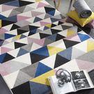 范登伯格 SEVILLA 幾合色塊進口地毯 幾合 120x170cm