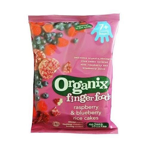 英國Organix 歐佳有機寶寶莓果米餅50g