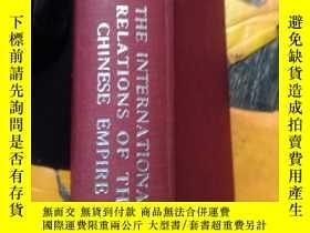 二手書博民逛書店THE罕見INTERNATIONAL RELATIONS OF