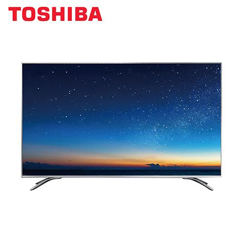 [TOSHIBA 東芝]43吋 六真色LED液晶顯示器+視訊盒 43U6840VS+HU6840T