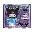 Sanrio 換裝娃娃組 擺飾玩偶 公仔 庫洛米 愛心眼鏡 紫_261319