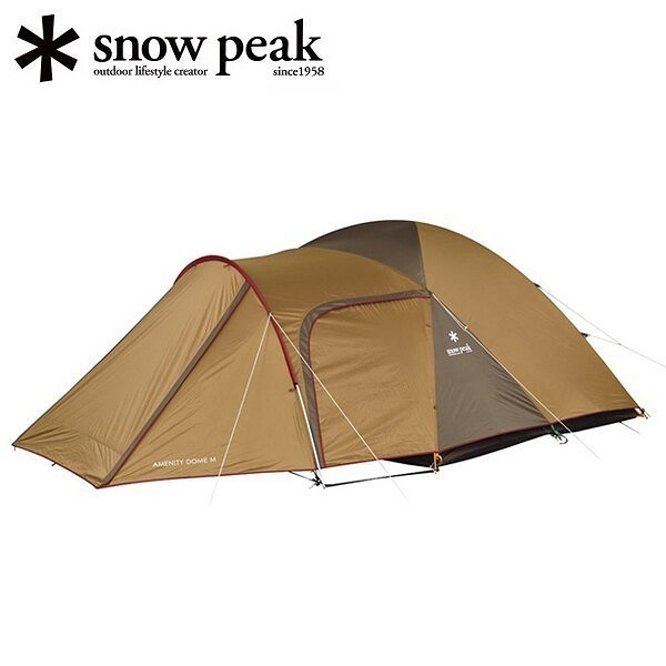 日本【snow peak】Amenity Dome 五人帳篷組 SDE-001R