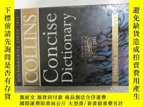 二手書博民逛書店COLLINS罕見CONCISE DICTIONARY:MAJO