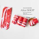 【Alice Shop 愛麗絲】過年新年 交換禮物 來烤肉吧~韓國五花肉3D 襪子惡搞 襪子 【pg52094059】預購
