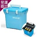 日本原裝 Aqua Blue 7公升保溫保冷箱 PAB100【免運直出】