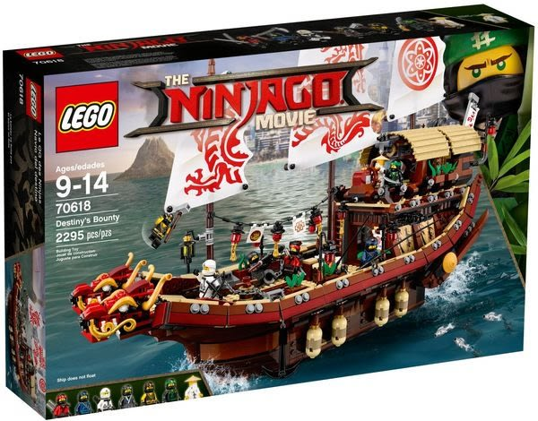 樂高LEGO NINJAGO MOVIE 忍者終極使命號 70618 TOYeGO 玩具e哥