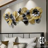 新中式輕奢銀杏葉沙發背景墻飾客廳墻面裝飾品墻壁掛件創意壁飾【Kacey Devlin】
