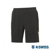 K-SWISS PF Shorts韓版運動短褲-男-黑