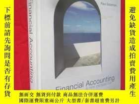二手書博民逛書店Financial罕見Accounting:a new perspective (大16開,硬精裝) 【詳見圖】奇